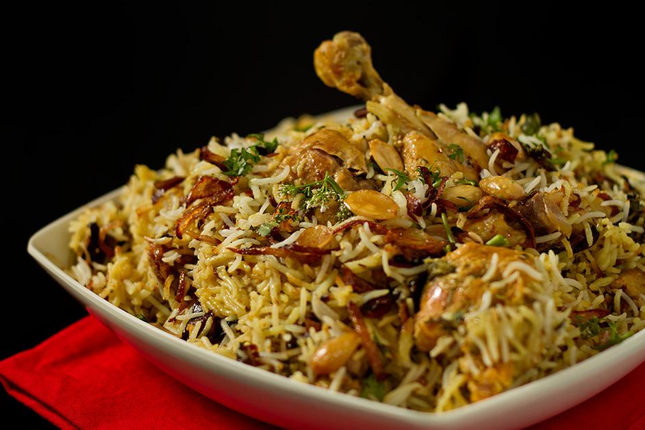 Little Raaja Indian Restaurant - Chicken Biryani