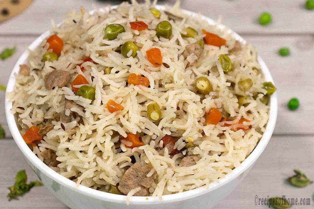 Little Raaja Indian Restaurant - Veg Pulao